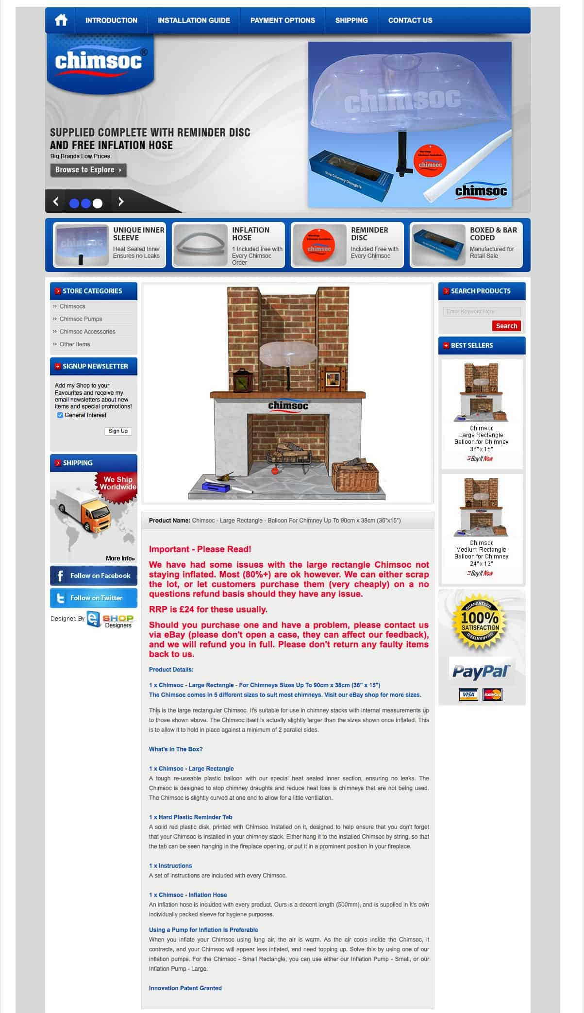 Chimsoc Ecommerce Website Designers