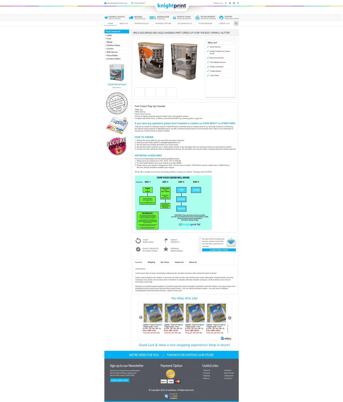 Knight Print LTD   eShop Designers