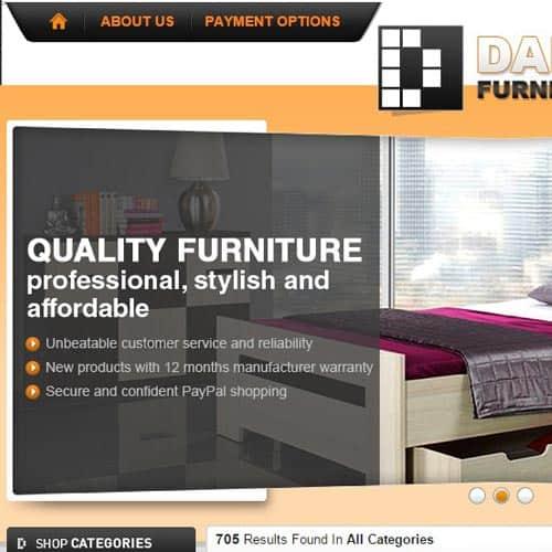 Dakohome - eBay store front design